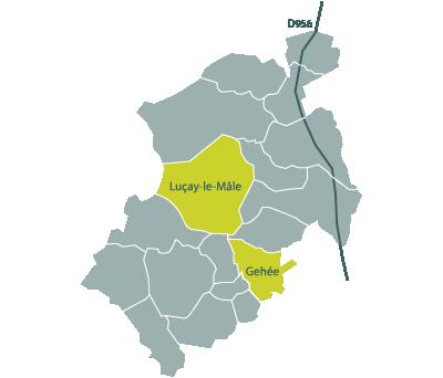 ABEV à Luçay-le-Mâle et Gehée en Ecueillé Valençay