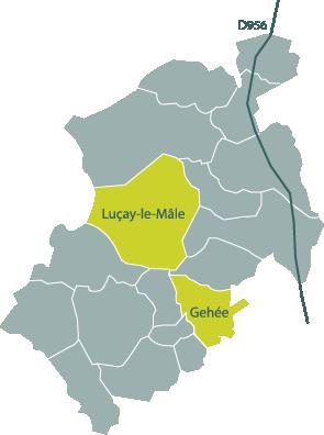 unité de méthanisation en Ecueillé Valençay à Luçay-le-Mâle et Gehée